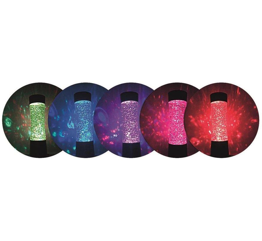 Kerst Glitter LED lamp