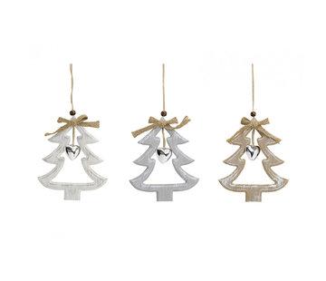 Kerstboom hanger met hartje