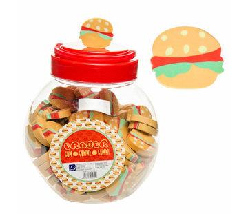 Gum Hamburger 3 stuks