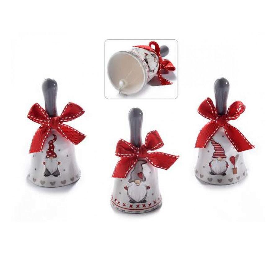 Kerstklokje keramiek