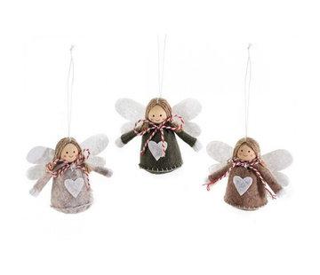 Stoffen decoratie engel