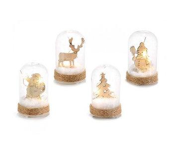 Kerststolp met ledlicht