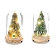 Stolp kerstboom met ledlicht