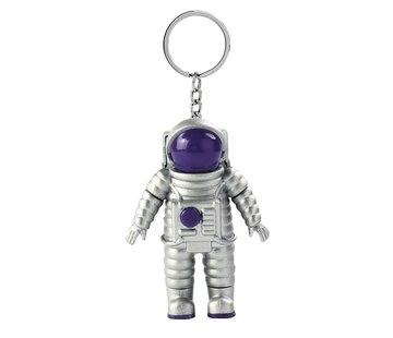 Astronaut sleutelhanger met licht