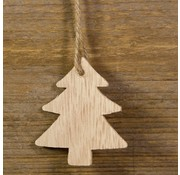 Kerst Cadeauhanger Kerstboom 5 stuks