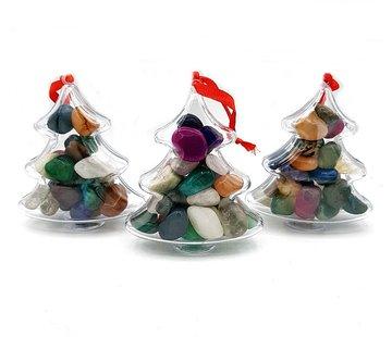 Kerstboom met edelstenen