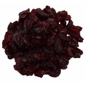 Cranberries gedroogd en gezoet stukjes