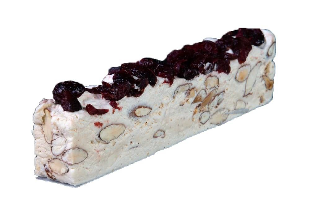Nougat bar Cranberry - Amandelen