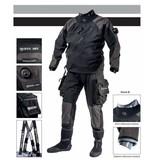 Huur Mares XR1 kevlar Droogpak/dry suit met Latex seal