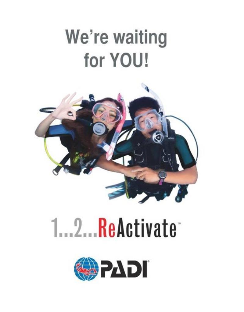 PADI ReActivate | Opfris cursus