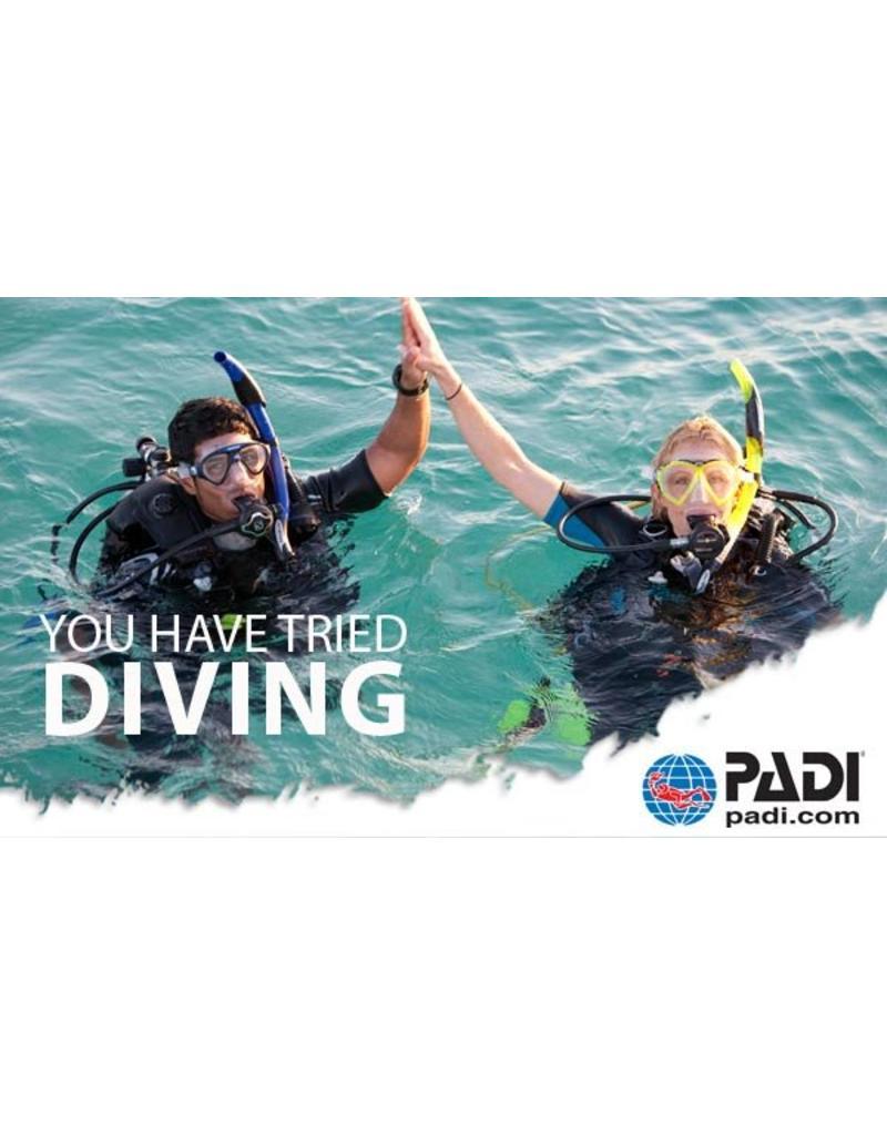 PADI Discover Scuba® Diving | Proefduik | Introductieduik