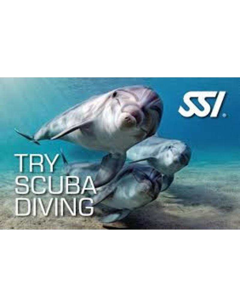 SSI Try Scuba Diving | Proefduik | Introductie duik