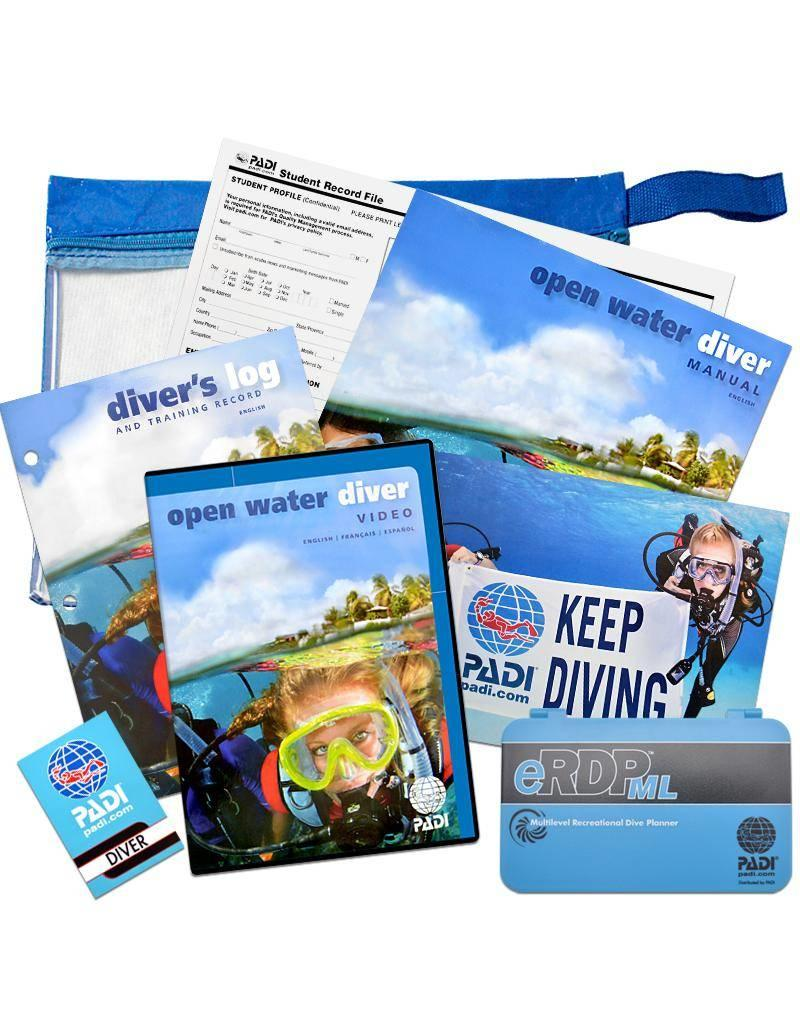 PADI Referral Open Water Diver | Holiday course