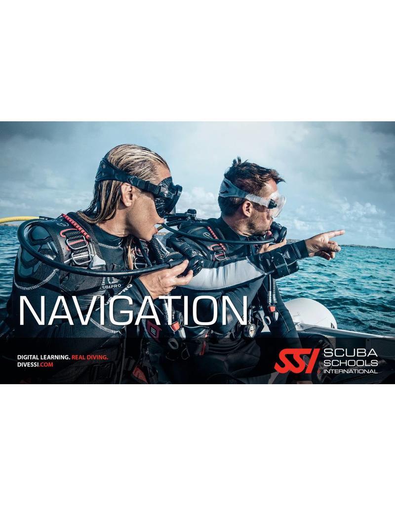 Navigation diver SSI specialty