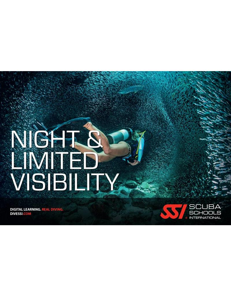 Night & Limited Visibility SSI specialty | Nacht & Slecht zicht duiker