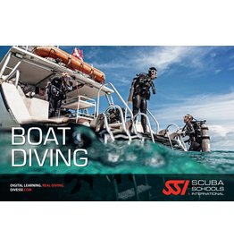 Boat diving SSI specialty
