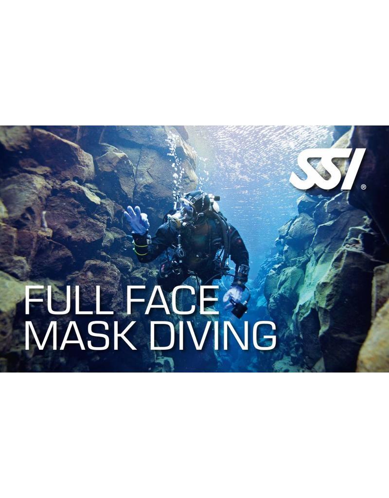 Full Face Mask diver SSI specialty | Volgelaatsmasker (FFM)