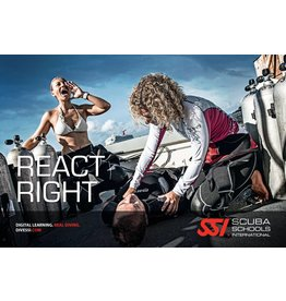 REACT RIGHT | EHBO| CPR| AED| FA| O2 |SSI specialty