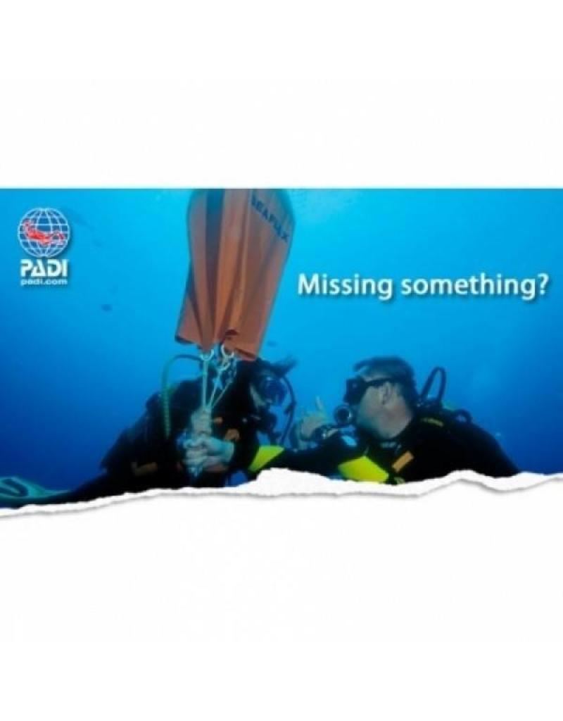 Search and recovery PADI Specialty | Zoeken en bergen