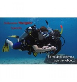 Under water navigator PADI specialty