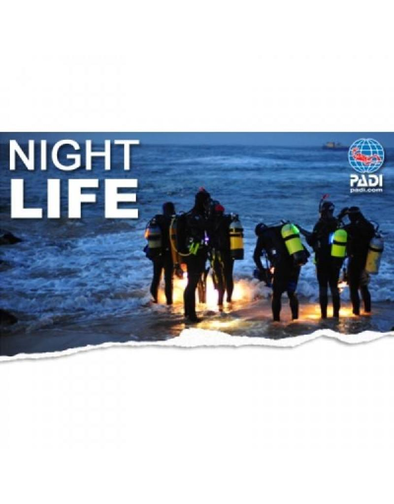 Night diver PADI specialty