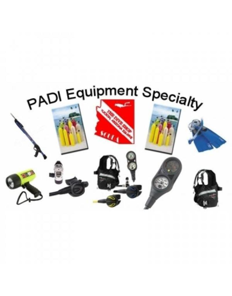 Equipment specialist PADI specialty