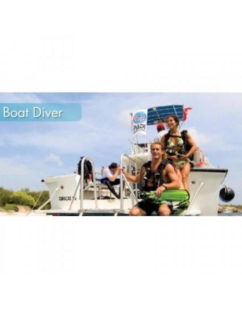 Boat diver PADI specialty | Boot duiken Vinkeveen