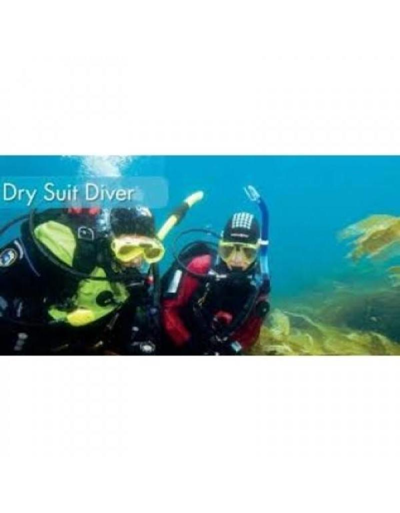 Dry Suit Diver PADI specialty | Droogpakduiker