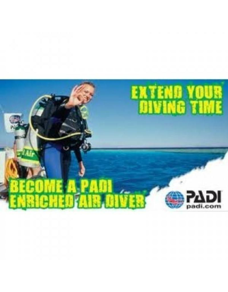 Enriched Air Diver (EANX) PADI specialty