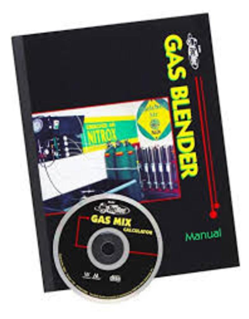Tec Rec gas blender Nitrox/Trimix PADI specialty