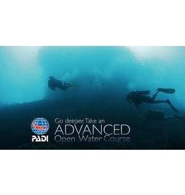 PADI Advanced Open Water diver (AOW)