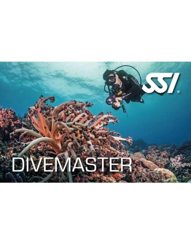 Upgrade van SSI Diveguide naar SSI Divemaster