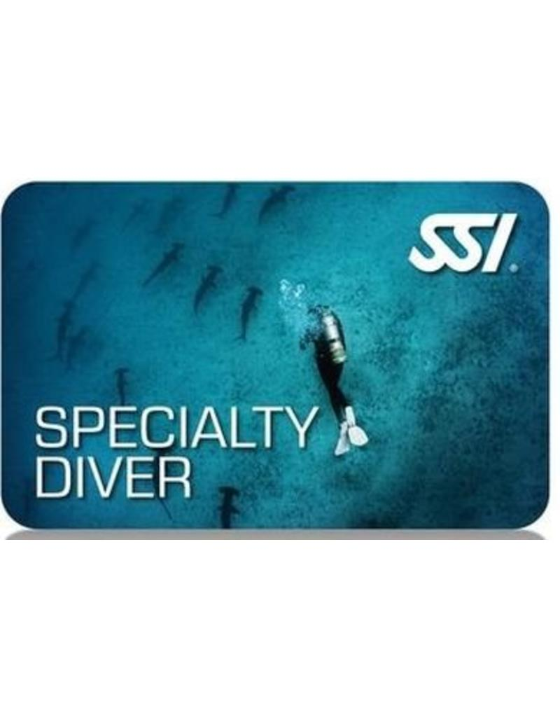 Cold water Diving SSI specialty instructor seminar