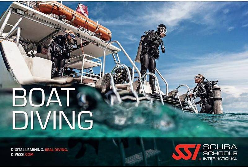 Boat dive specialty   Boot duik specialty  SSI   PADI