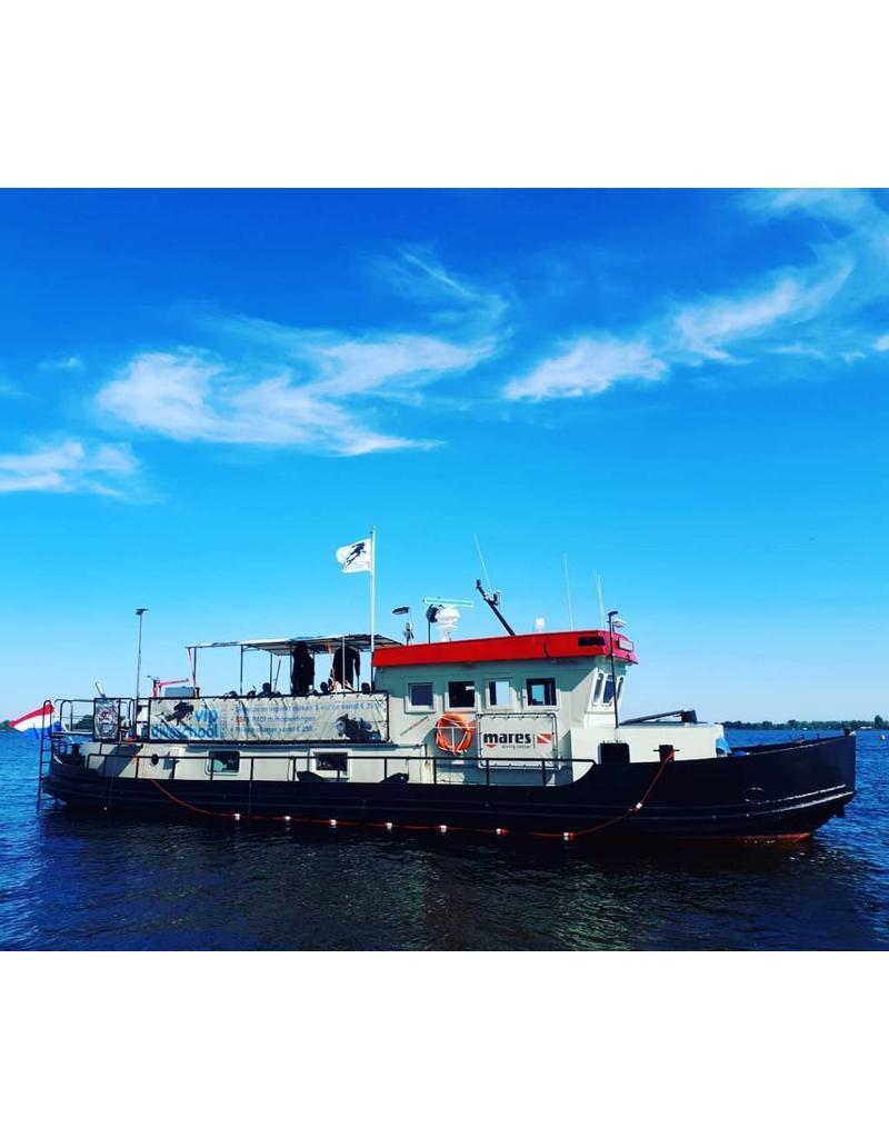 Guidance boat diving | Supervised boat diving in Vinkeveen