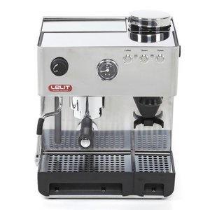 Lelit Anita RVS espressomachine with grinder