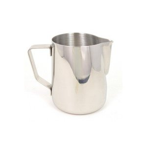 Rhinowares Milk Pitcher Classic - Silver 360 ml