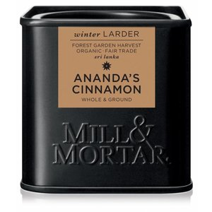 Mill & Mortar BIO Ananda's Cinnamon, whole & ground (45g)