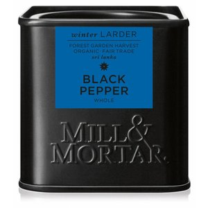 Mill & Mortar BIO Black Pepper, whole (50g)