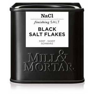 Mill & Mortar BIO Black Salt Flakes (80g)