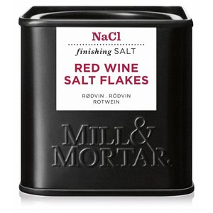 Mill & Mortar BIO Red Wine Salt Flakes (80g)