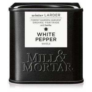 Mill & Mortar BIO White Pepper, whole (50g)