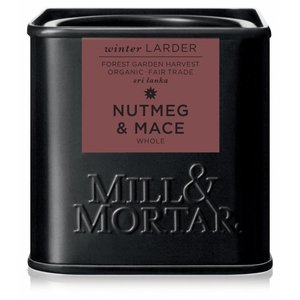 Mill & Mortar BIO Nutmeg & Mace (45g)