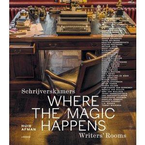 Lannoo Schrijverskamers - Where the magic happens - Writer's Rooms