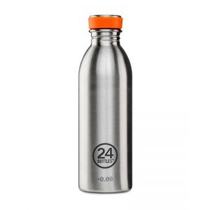 24 bottles Urban Bottle 50cl Steel