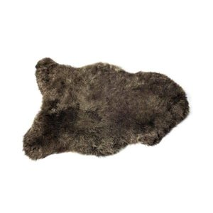 The Organic Sheep Icelandic Sheepskinshort haired - choco