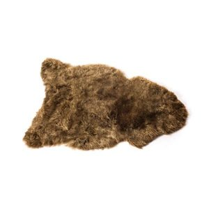The Organic Sheep Icelandic Sheepskin short haired - brown