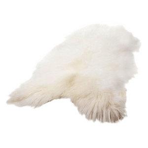 Cuero Icelandic Wild Sheepskin longhaired white