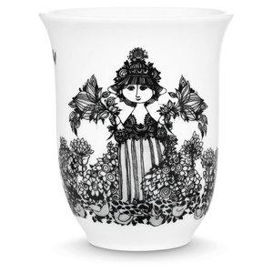 Bjørn Wiinblad Thermo cup, Cecilia, black, 31cl