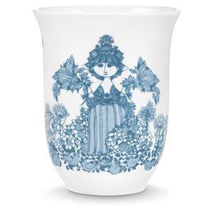 Bjørn Wiinblad Thermo cup, Cecilia, dusty blue, 31 cl